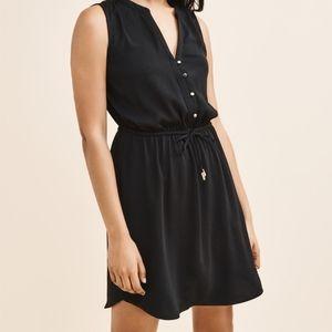 Dynamite Sleeveless Black Dress